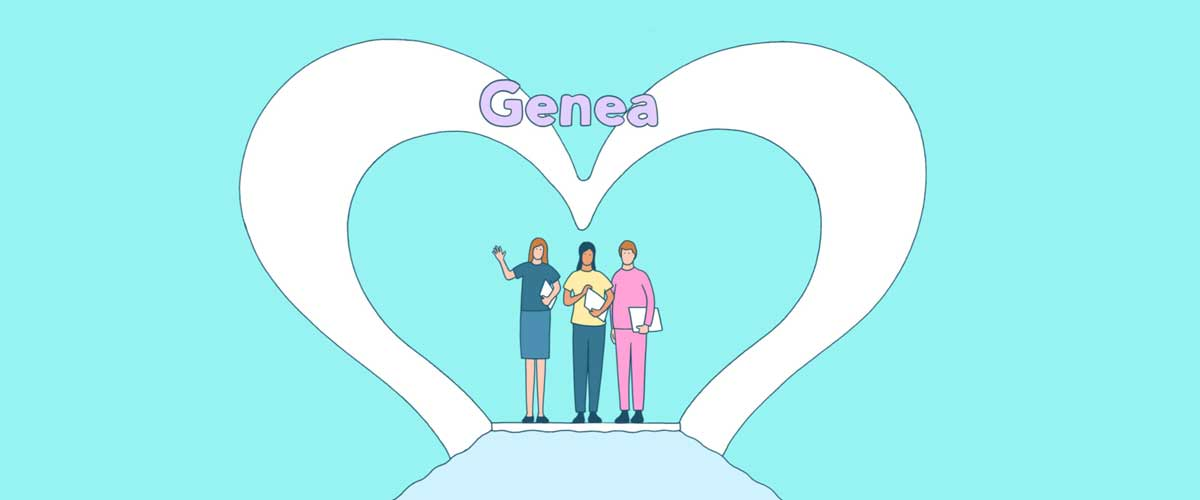 Genea team heart