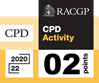 RACGP CPD 2 points logo