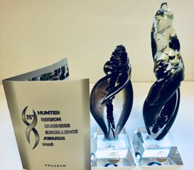 Genea Fertility Newcastle trophies